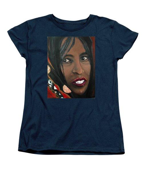 Alem E. W. Women's T-Shirt (Standard Cut) by Anna Ruzsan
