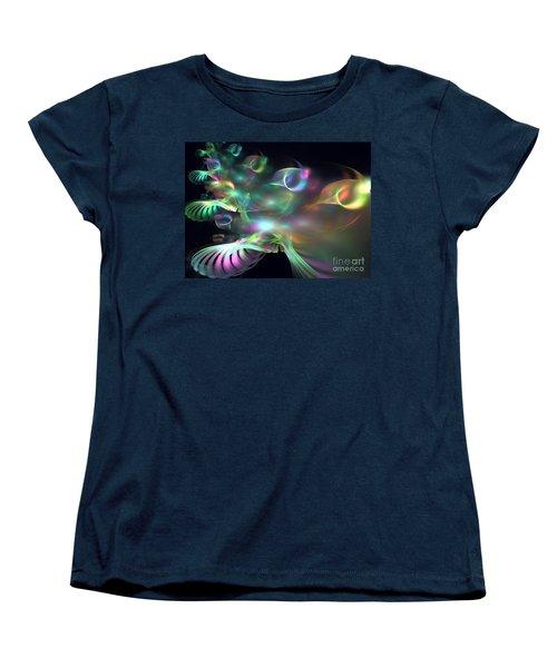 Alien Shrub Women's T-Shirt (Standard Cut) by Kim Sy Ok