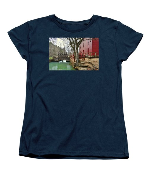 Women's T-Shirt (Standard Cut) featuring the photograph Alley Spring Mill 34 by Marty Koch