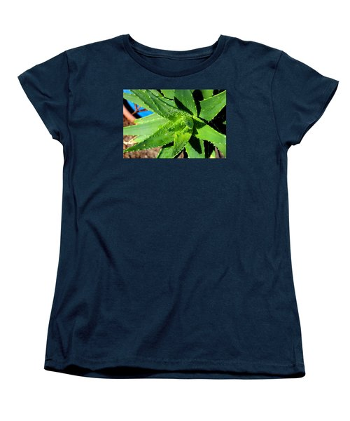 Aloe Women's T-Shirt (Standard Cut) by M Diane Bonaparte
