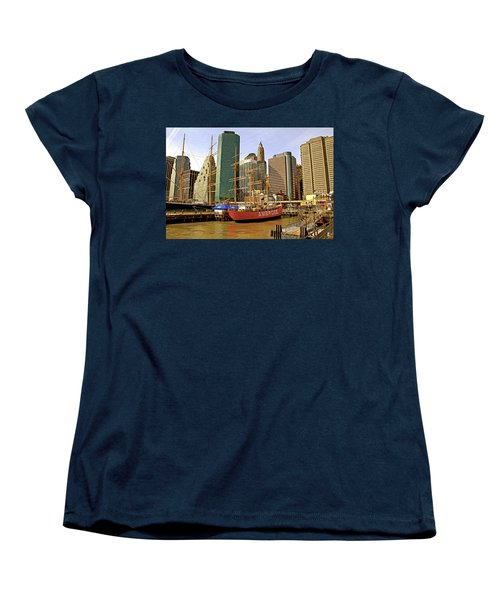 Women's T-Shirt (Standard Cut) featuring the photograph Ambrose by Alice Gipson
