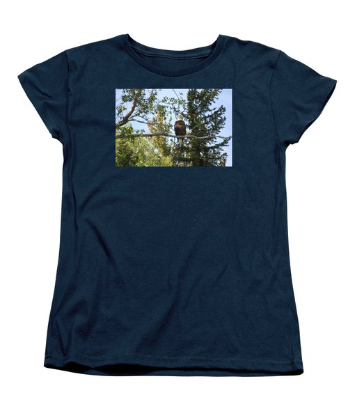 American Eagle Women's T-Shirt (Standard Cut) by Living Color Photography Lorraine Lynch