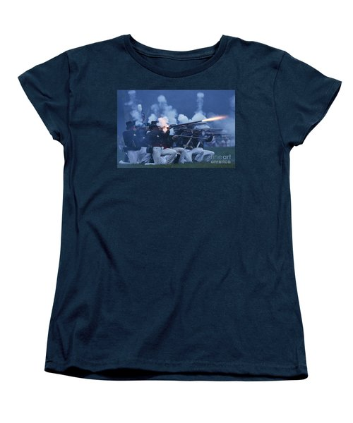American Night Battle Women's T-Shirt (Standard Cut) by JT Lewis