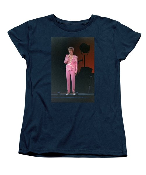 Women's T-Shirt (Standard Cut) featuring the photograph Anne Murray by Mike Martin