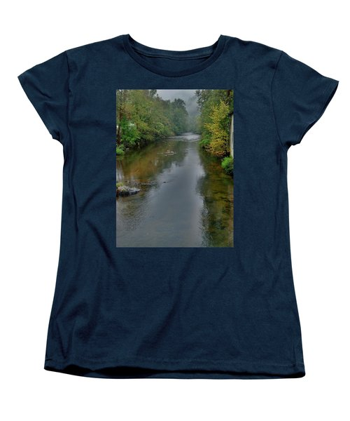 Women's T-Shirt (Standard Cut) featuring the photograph Appalachian Trail by Janice Spivey