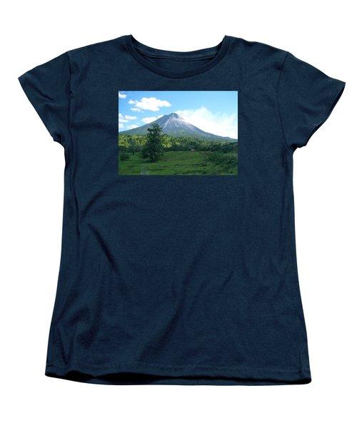 Women's T-Shirt (Standard Cut) featuring the photograph Arenal by Eric Tressler