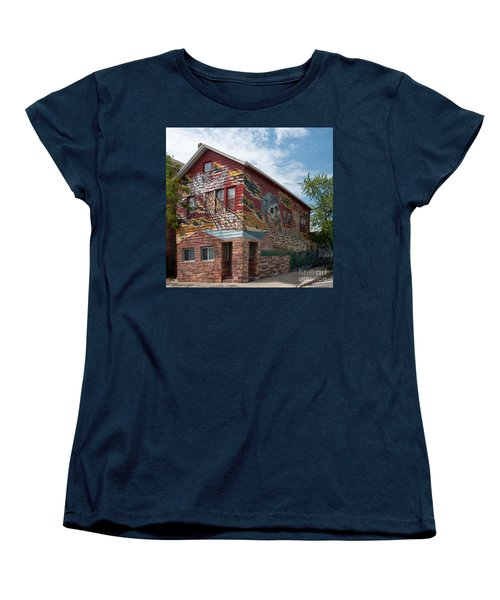 Art House South Chicago Mural Women's T-Shirt (Standard Cut)