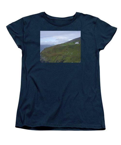 Women's T-Shirt (Standard Cut) featuring the photograph Atlantic Coast Ireland by Hugh Smith