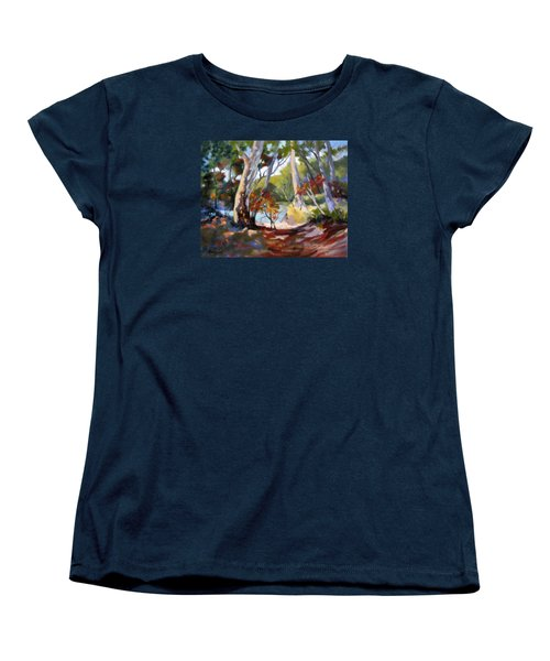 Australia Revisited Women's T-Shirt (Standard Cut) by Rae Andrews