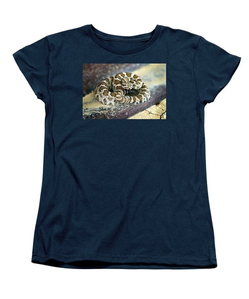 Baby Rattle Women's T-Shirt (Standard Cut) by Anthony Jones