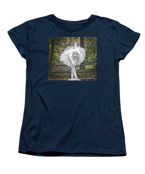 Ballerina In The Park Women's T-Shirt (Standard Cut)