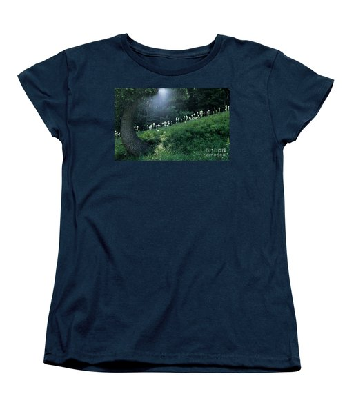 Bear-grass Ridge Women's T-Shirt (Standard Cut) by Sharon Elliott