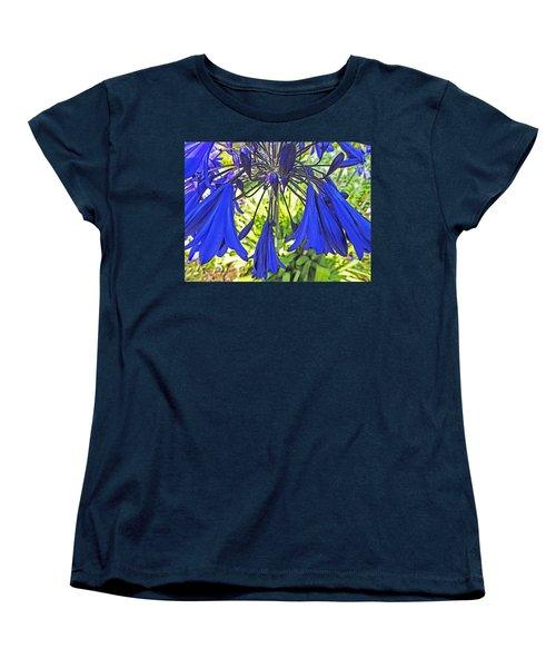 Beautiful Bluebells Close-up Women's T-Shirt (Standard Cut) by Anne Mott