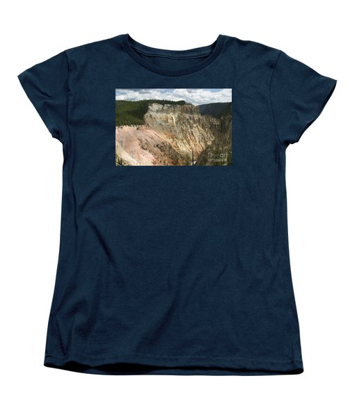Beauty Of The Grand Canyon In Yellowstone Women's T-Shirt (Standard Cut) by Living Color Photography Lorraine Lynch