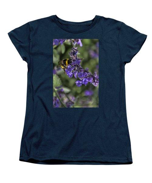 Women's T-Shirt (Standard Cut) featuring the photograph Bee by David Gleeson