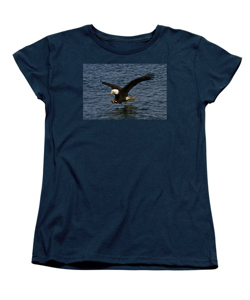 Women's T-Shirt (Standard Cut) featuring the photograph Before The Strike by Doug Lloyd