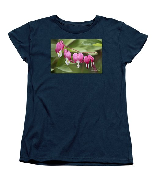 Bleeding Hearts Women's T-Shirt (Standard Cut)