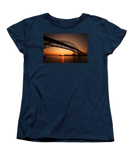 Women's T-Shirt (Standard Cut) featuring the photograph Blue Dawn by Gordon Dean II