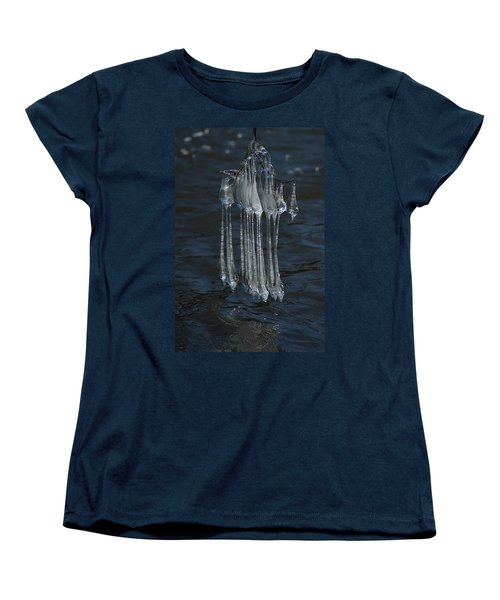 Blue Return Women's T-Shirt (Standard Cut) by Joseph Yarbrough