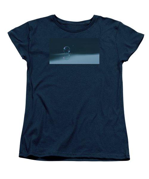 Bubble Ripples Women's T-Shirt (Standard Cut) by Cathie Douglas