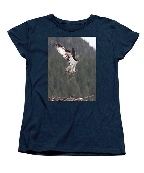 Women's T-Shirt (Standard Cut) featuring the photograph Building Supplies by Cathie Douglas
