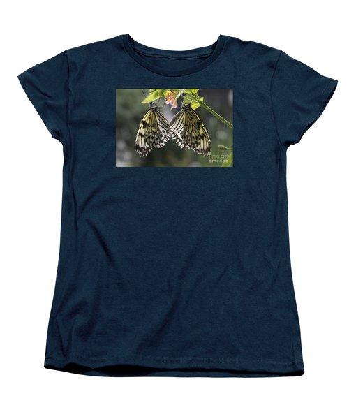 Butterfly Duo Women's T-Shirt (Standard Cut) by Eunice Gibb