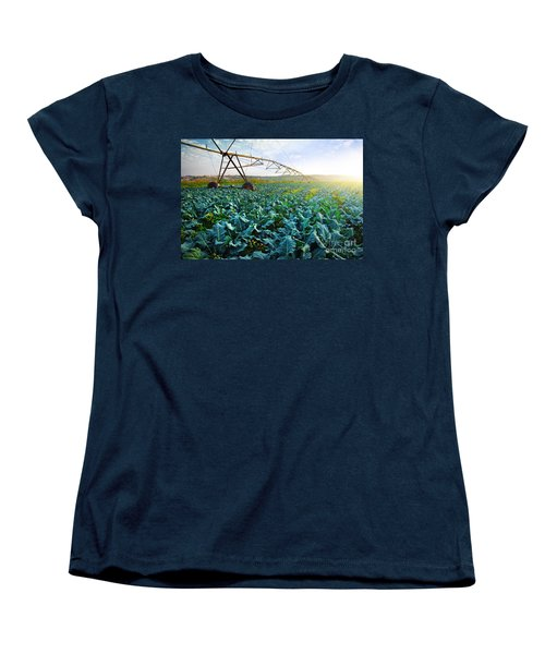 Cabbage Growth Women's T-Shirt (Standard Cut) by Carlos Caetano