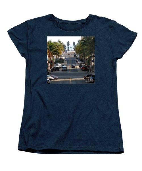 California Street Women's T-Shirt (Standard Cut) by Henrik Lehnerer