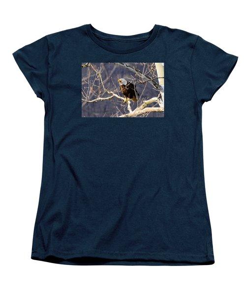 Women's T-Shirt (Standard Cut) featuring the photograph Calling For His Mate by Randall Branham