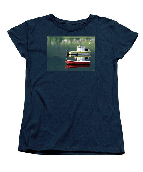 Women's T-Shirt (Standard Cut) featuring the photograph Calm Waters by Lynn Bolt