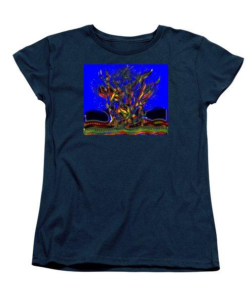 Camp Fire Delight Women's T-Shirt (Standard Cut) by Alec Drake