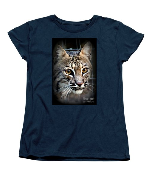 Women's T-Shirt (Standard Cut) featuring the photograph Cat Fever by Kathy  White