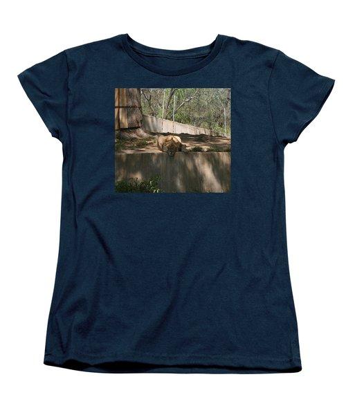 Women's T-Shirt (Standard Cut) featuring the photograph Cat Nap by Stacy C Bottoms