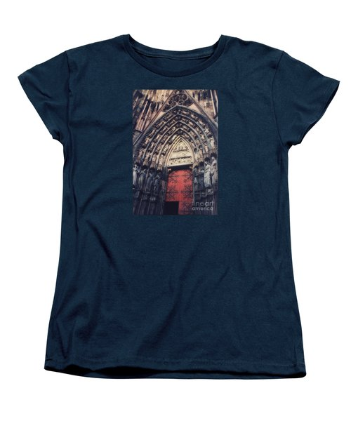 Cathedral Women's T-Shirt (Standard Cut) by Paul  Wilford