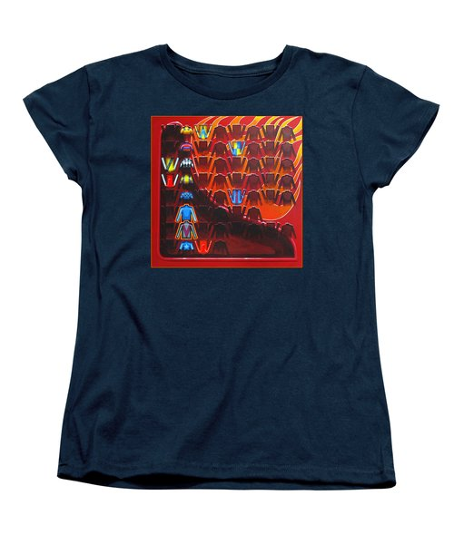 Women's T-Shirt (Standard Cut) featuring the painting Cause Celebre by Mark Howard Jones