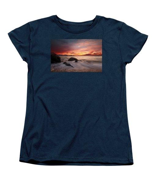 Celtic Sunset Women's T-Shirt (Standard Cut) by Beverly Cash