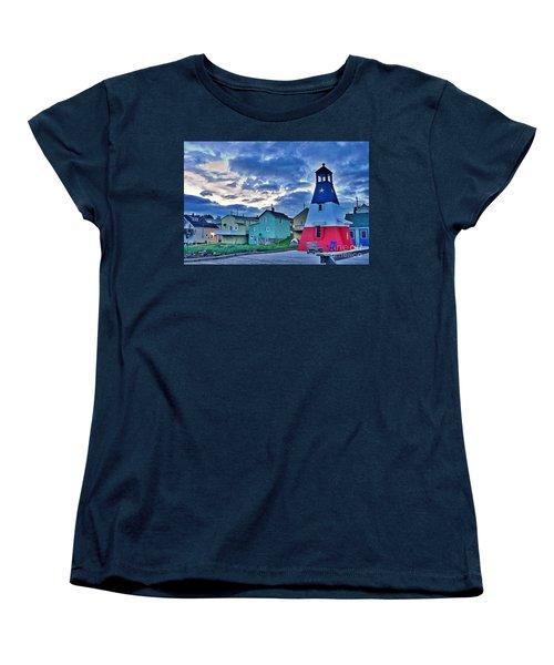 Cheticamp In Cape Breton Nova Scotia Women's T-Shirt (Standard Cut) by Joe  Ng