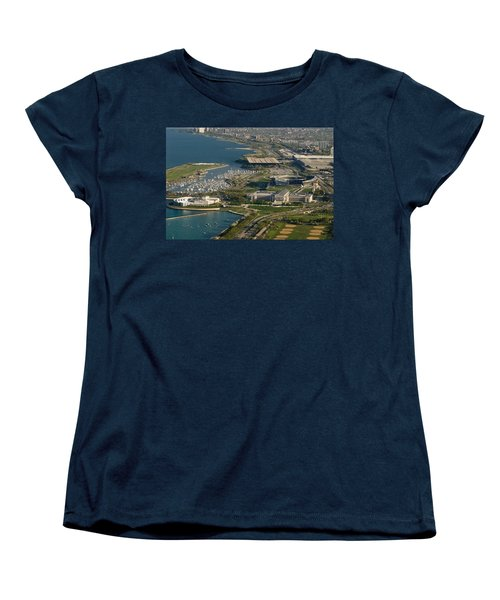 Chicagos Lakefront Museum Campus Women's T-Shirt (Standard Cut)