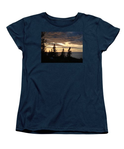 Women's T-Shirt (Standard Cut) featuring the photograph Clearing Sky by Bonfire Photography
