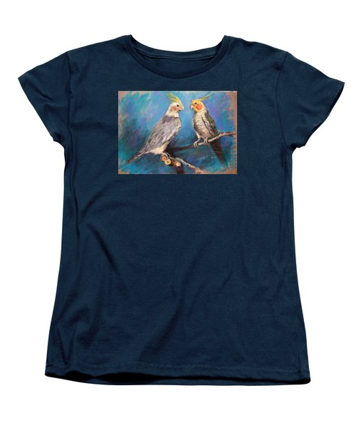 Coctaiel Parrots Women's T-Shirt (Standard Cut) by Ylli Haruni