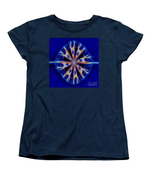 Color Me Women's T-Shirt (Standard Cut) by Danuta Bennett