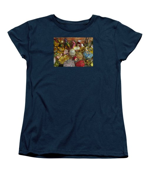 Women's T-Shirt (Standard Cut) featuring the photograph  Fancy And Colorful by Tina M Wenger