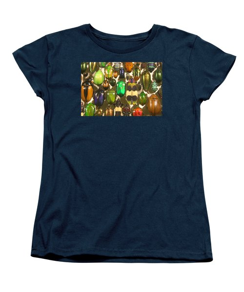 Colorful Insects Women's T-Shirt (Standard Cut) by Brooke T Ryan