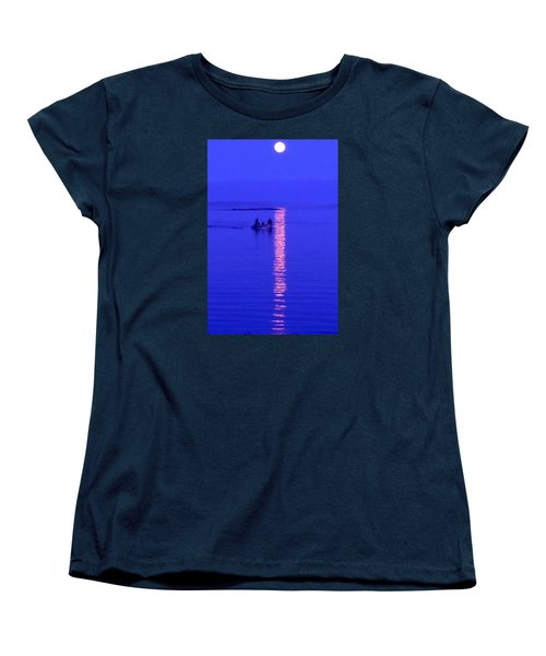 Women's T-Shirt (Standard Cut) featuring the photograph Coming Home by Francine Frank