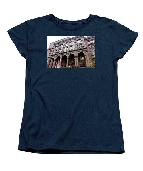 Cooper Union Women's T-Shirt (Standard Cut) by David Bearden