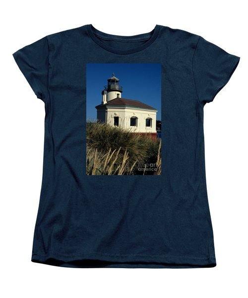 Women's T-Shirt (Standard Cut) featuring the photograph Coquille Light by Sharon Elliott