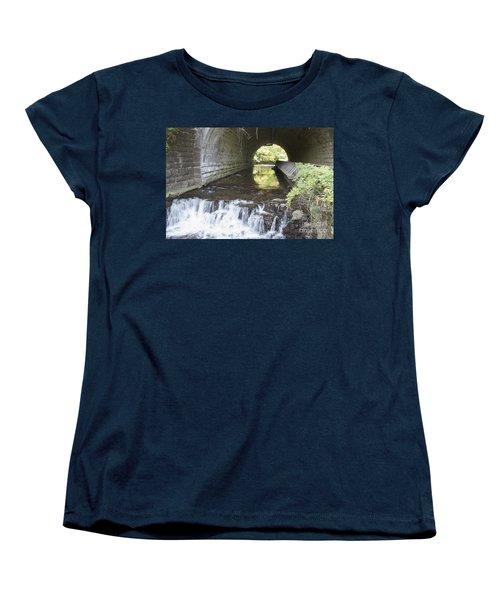 Women's T-Shirt (Standard Cut) featuring the photograph Corbetts Glen by William Norton