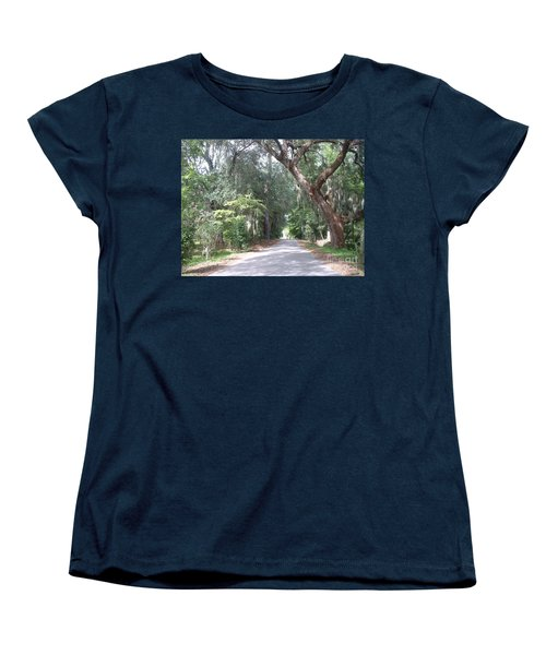 Covered By Nature Women's T-Shirt (Standard Cut) by Mark Robbins