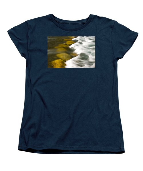 Crossing The Creek Women's T-Shirt (Standard Cut) by Rich Franco
