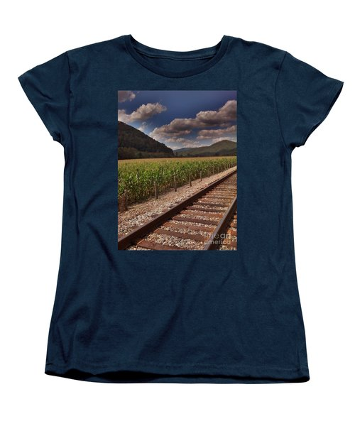 Women's T-Shirt (Standard Cut) featuring the photograph Del Rio Tennessee by Janice Spivey